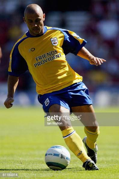 Kevin Phillips of Southampton is seen in action during the preseason friendly match between Southamton and Chievo on August 7 2004 at the St Mary's...