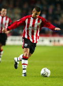 Kevin Phillips of Southampton runs with the ball during the FA Barclaycard Premiership match between Southampton and Leicester City held on January 7...
