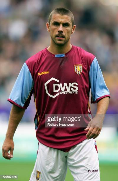 Kevin Phillips of Villa in action during the preseason friendly match between Wolverhampton Wanderers and Aston Villa at Molineux July 30 2005 in...
