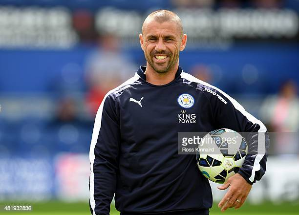 Kevin Phillips one of the Leicester City coaches during the pre season friendly match between Mansfield Town and Leicester City at the One Call...