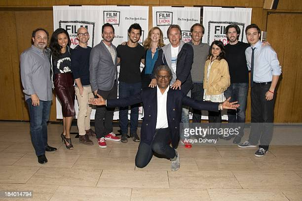 Kevin Pollak Jurnee Smollett Jim Rash Nick Kroll Taylor Lautner Judy Greer Elvis Mitchell Don Johnson Nat Faxon Mae Whitman Jason Reitman and Jarod...