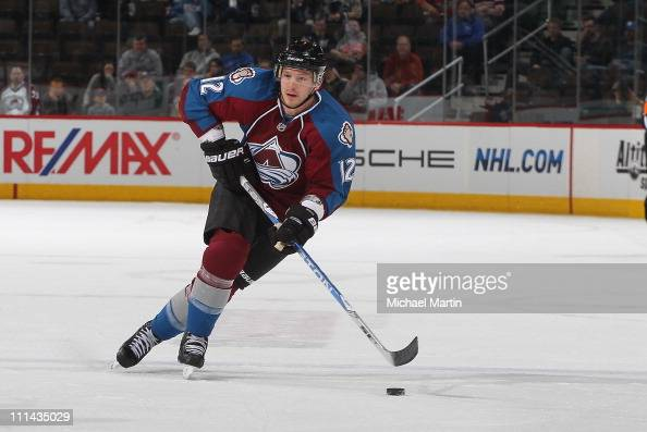 Kevin Porter of the Colorado Avalanche skates against the Nashville Predators at the Pepsi Center on March 31 2011 in Denver Colorado The Predators...