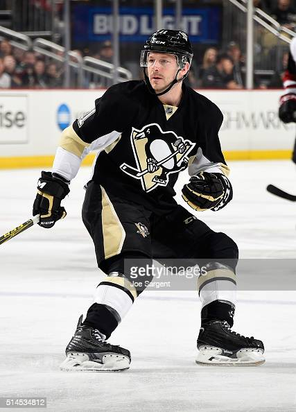 Kevin Porter of the Pittsburgh Penguins skates against the Arizona Coyotes at Consol Energy Center on February 29 2016 in Pittsburgh Pennsylvania