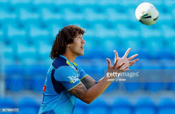 Kevin Proctor during a Gold Coast Titans NRL media opportunity at Cbus Super Stadium on August 9 2017 in Gold Coast Australia