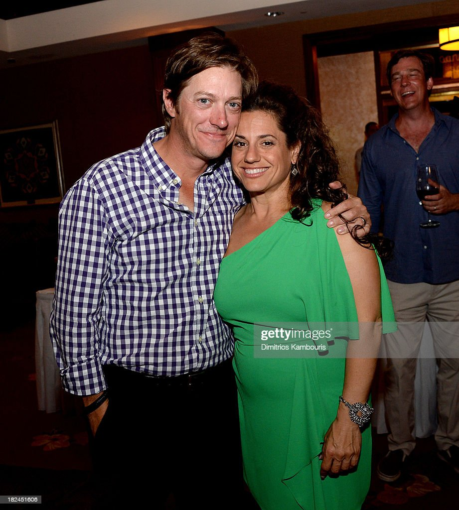 Kevin Rahm (L) and <a gi-track='captionPersonalityLinkClicked' href=/galleries/search?phrase=Marissa+Jaret+Winokur&family=editorial&specificpeople=206425 ng-click='$event.stopPropagation()'>Marissa Jaret Winokur</a> attend the Gala Dinner and Awards during Day Three of the Sandals Emerald Bay Celebrity Getaway and Golf Weekend on September 29, 2013 at Sandals Emerald Bay in Great Exuma, Bahamas.