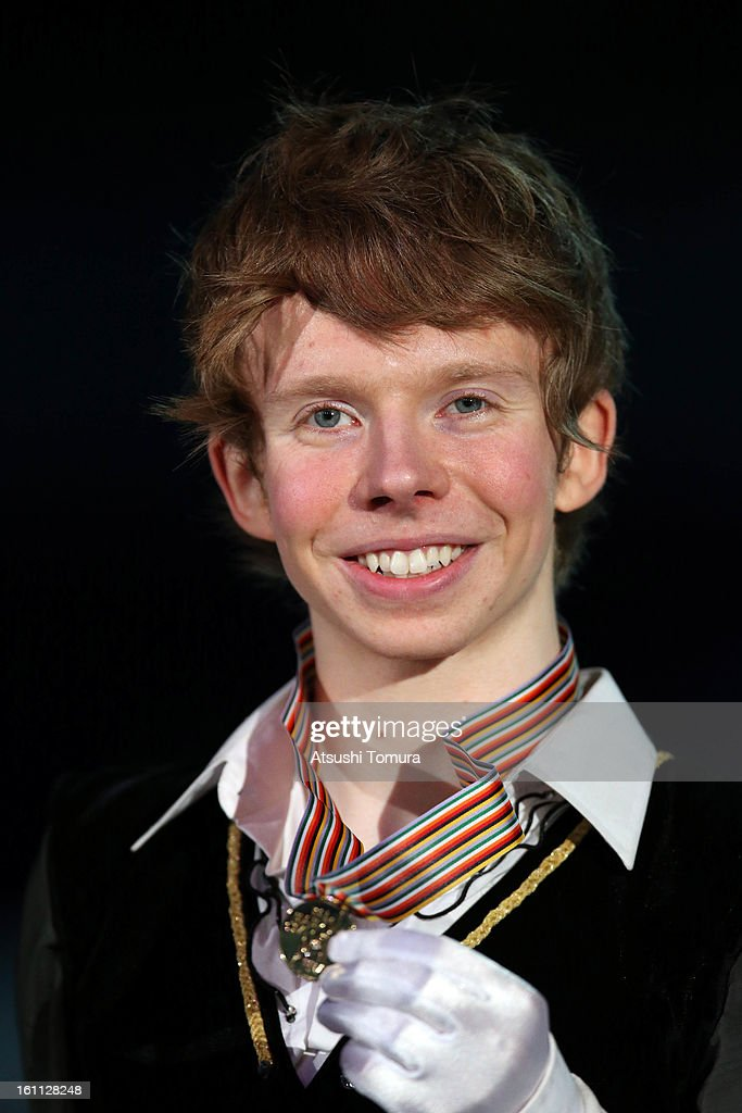 <a gi-track='captionPersonalityLinkClicked' href=/galleries/search?phrase=Kevin+Reynolds&family=editorial&specificpeople=5578771 ng-click='$event.stopPropagation()'>Kevin Reynolds</a> of Canada poses in the Men's Free Skating during day two of the ISU Four Continents Figure Skating Championships at Osaka Municipal Central Gymnasium on February 9, 2013 in Osaka, Japan.