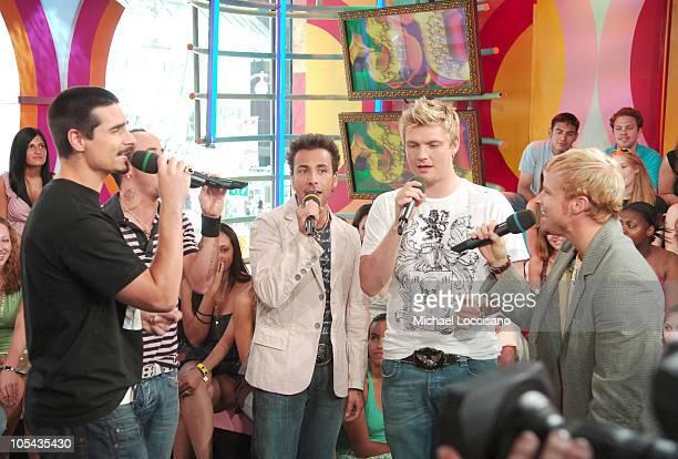 Kevin Richardson AJ McLean Howie Dorough Nick Carter and Brian Littrell of Backstreet Boys