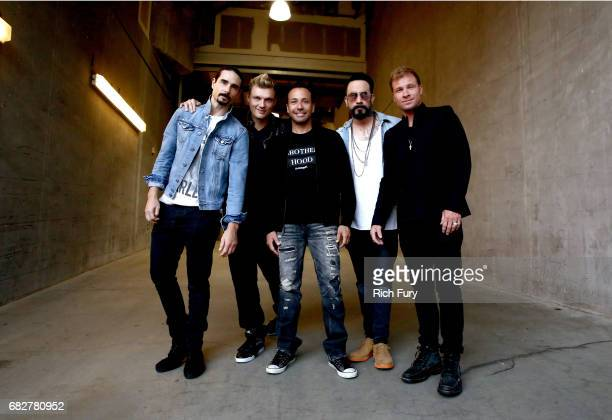Kevin Richardson Nick Carter Howie Dorough AJ McLean and Brian Littrell of Backstreet Boys attend 1027 KIIS FM's 2017 Wango Tango at StubHub Center...