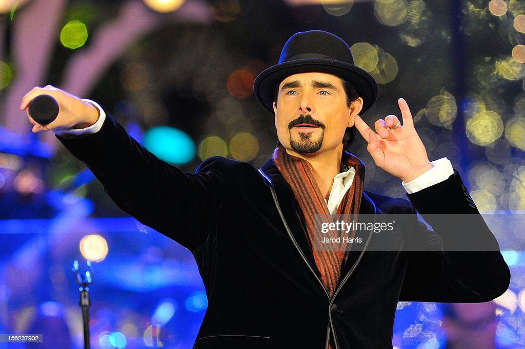 Kevin Richardson of The Backstreet Boys performs at A Hollywood Christmas Celebration at The Grove on November 11, 2012 in Los Angeles, California.