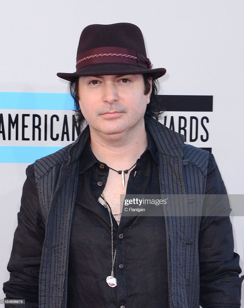 Kevin Rudolf arrives at the 2013 American Music Awards at Nokia Theatre LA Live on November 24 2013 in Los Angeles California