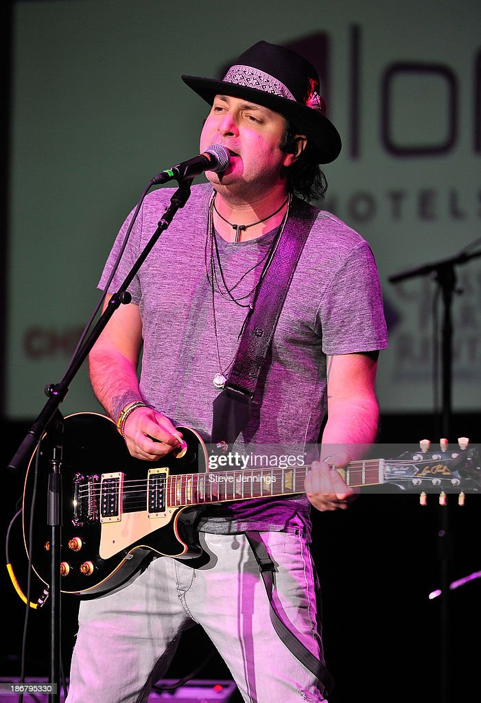 Kevin Rudolf performs on Day 3 of 'Live In The Vineyard' at the Uptown Theatre on November 3 2013 in Napa California