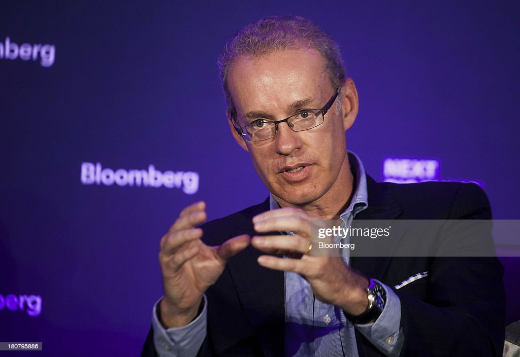 Kevin Ryan, chairman of Gilt Groupe Inc., speaks at the Bloomberg Next Big Thing Summit in New York, U.S., on Monday, Sept. 16, 2013. The conference convenes the most influential investors and industry leaders in innovation and science to explore the great frontiers of how technology is changing the way we live, work, and interact. Photographer: Michael Nagle/Bloomberg via Getty Images