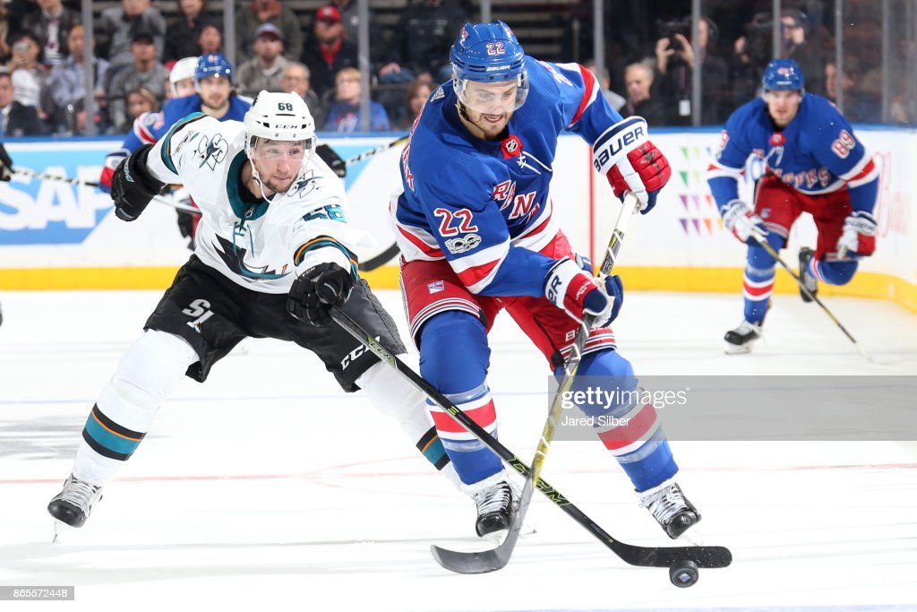 San Jose Sharks v New York Rangers