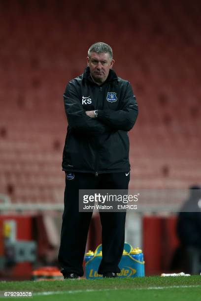 Kevin Sheedy Everton coach
