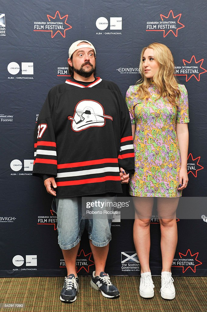 Kevin smith and harley quinn smith attend a photocall during the 70th