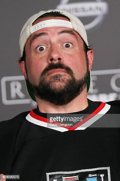 Kevin Smith arrives at the premiere of Walt Disney Pictures and Lucasfilm's 'Rogue One A Star Wars Story' at the Pantages Theatre on December 10 2016...