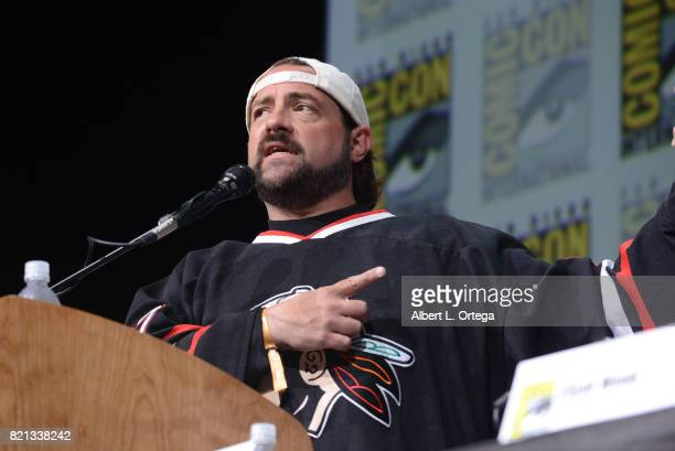 Kevin Smith at Dirk Gently's Holistic Detective Agency BBC America Official Panel during ComicCon International 2017 at San Diego Convention Center...
