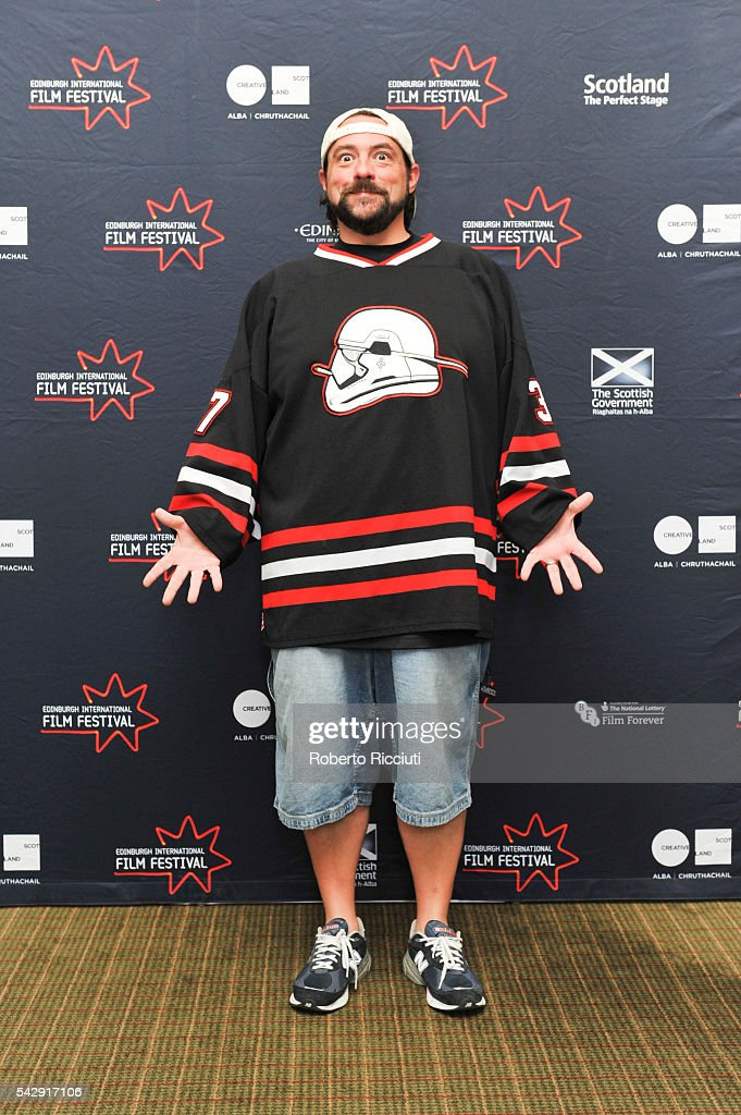 Kevin Smith attends a photocall during the 70th Edinburgh International Film Festival at The Howard Hotel on June 25, 2016 in Edinburgh, Scotland.