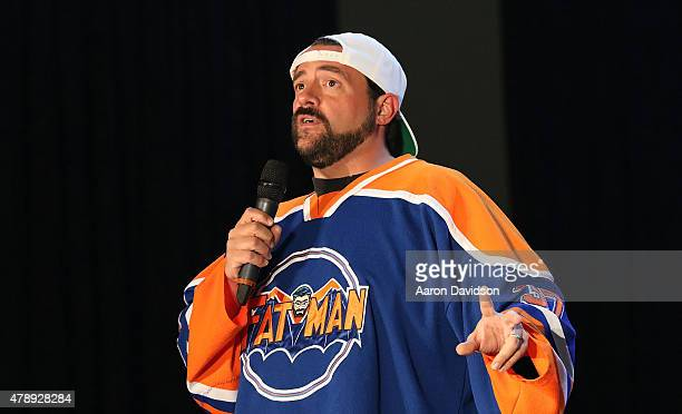 Kevin Smith attends Florida Supercon at the Miami Beach Convention Center on June 28 2015 in Miami Beach Florida