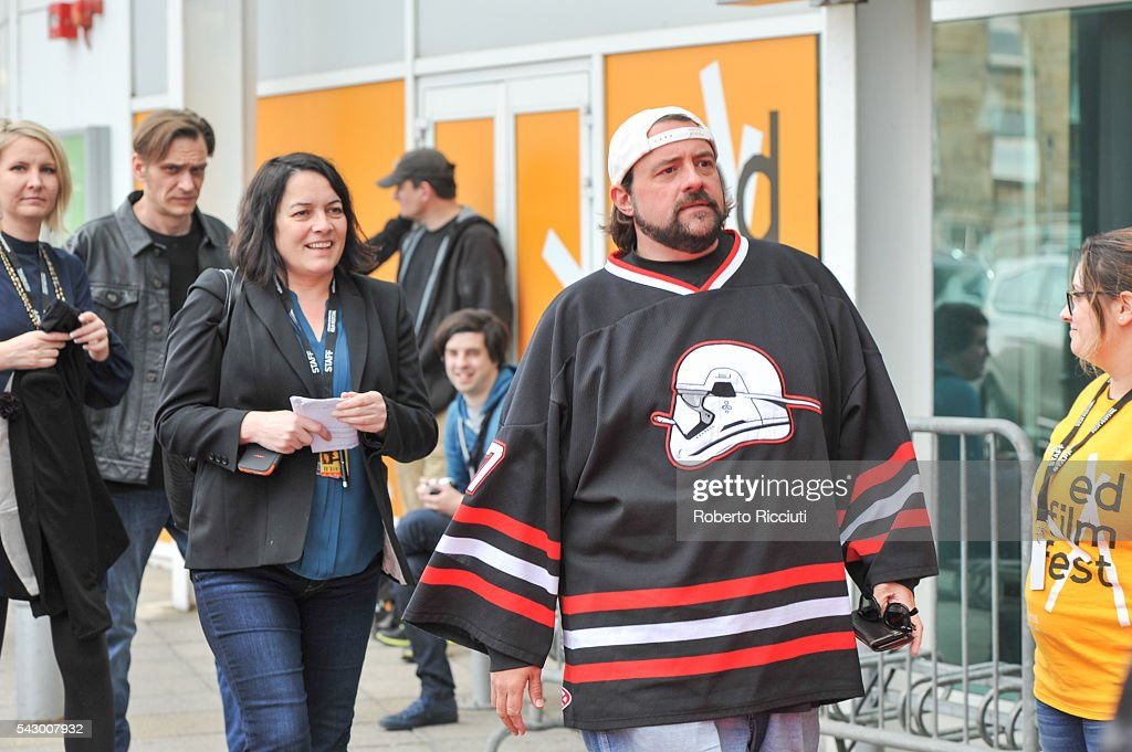 Kevin Smith attends the red carpet for his movie 'Yoga Hosers' during the 70th Edinburgh International Film Festival at Cineworld on June 25, 2016 in Edinburgh, Scotland.