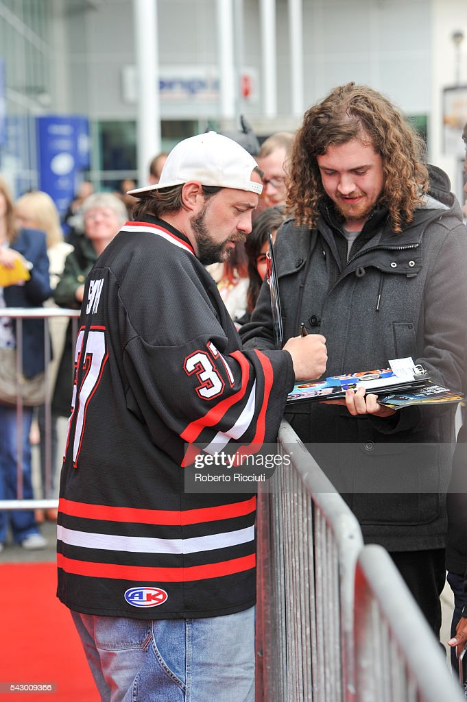 Kevin Smith attends the red carpet for 'Yoga Hosers' during the 70th Edinburgh International Film Festival at Cineworld on June 25, 2016 in Edinburgh, Scotland.