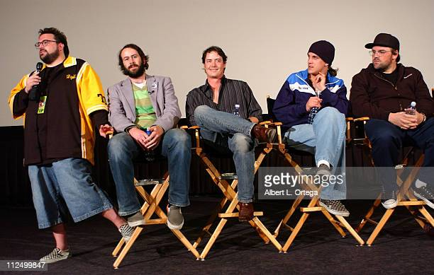 Kevin Smith Jason Lee Jeremy London Jason Mewes and Ethan Suplee