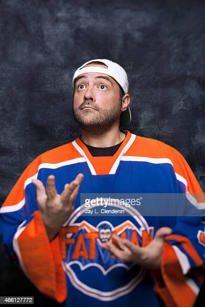 Kevin Smith photographed for Los Angeles Times at the 2015 Sundance Film Festival on January 24 2015 in Park City Utah PUBLISHED IMAGE CREDIT MUST...