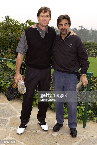 Kevin Sorbo Joe Mantegna during 4th Annual Elizabeth Glaser Pediatric AIDS Foundation Celebrity Golf Classic Sponsored By Mossimo MercedesBenz at...