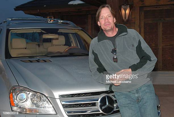 Kevin Sorbo with MercedesBenz GL class at The North Face House *Exclusive Coverage*