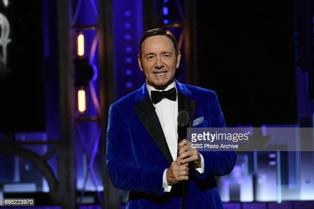 Kevin Spacey at THE 71st ANNUAL TONY AWARDS broadcast live from Radio City Music Hall in New York City on Sunday June 11 2017 on the CBS Television...