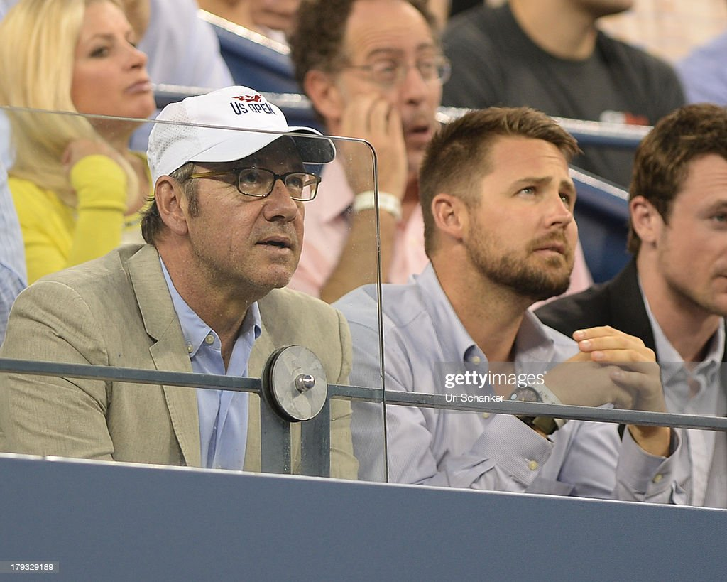 Kevin Spacey attends the 2013 US Open at USTA Billie Jean King National Tennis Center on September 1, 2013 in New York City.