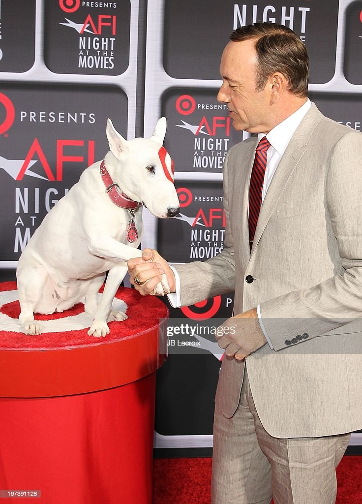 Kevin Spacey attends the AFI Night At The Movies presented by Target held at ArcLight Hollywood on April 24, 2013 in Hollywood, California.