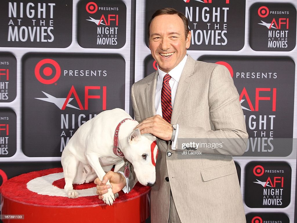 <a gi-track='captionPersonalityLinkClicked' href=/galleries/search?phrase=Kevin+Spacey&family=editorial&specificpeople=202091 ng-click='$event.stopPropagation()'>Kevin Spacey</a> attends the AFI Night At The Movies presented by Target held at ArcLight Hollywood on April 24, 2013 in Hollywood, California.