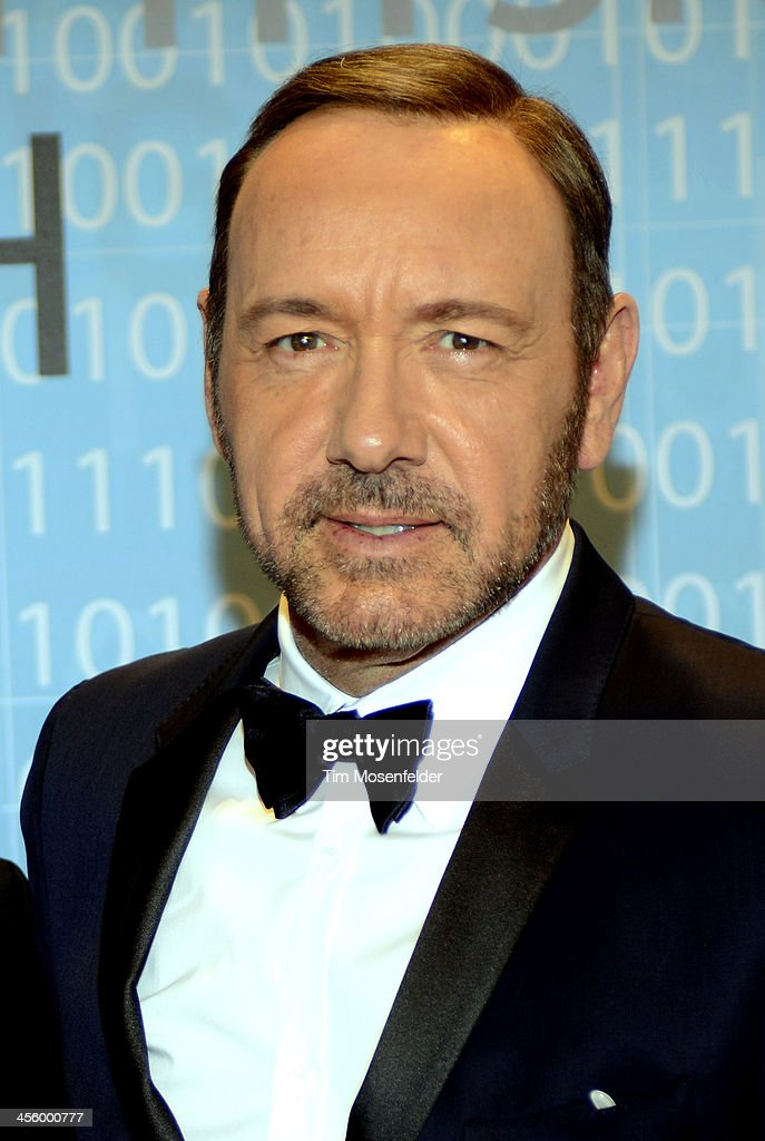 Kevin Spacey attends the Breakthrough Prize Inaugural Ceremony at Nasa Ames Research Center on December 12, 2013 in Mountain View, California.