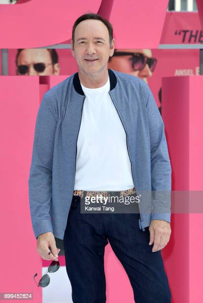 Kevin Spacey attends the European premiere of 'Baby Driver' at Cineworld Leicester Square on June 21 2017 in London United Kingdom