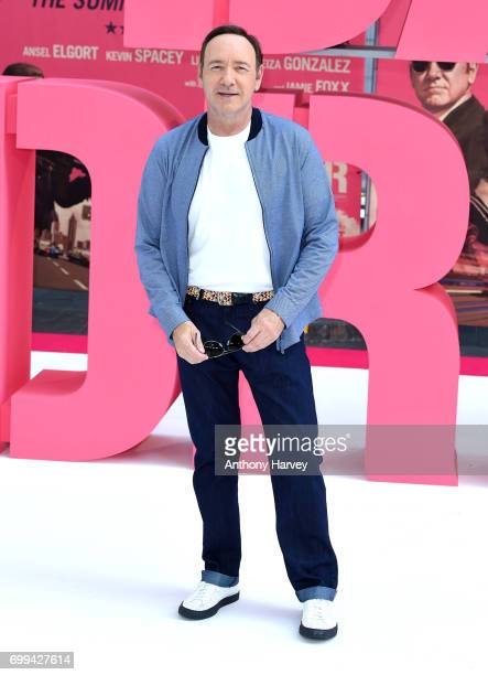 Kevin Spacey attends the European premiere of 'Baby Driver' on June 21 2017 in London United Kingdom