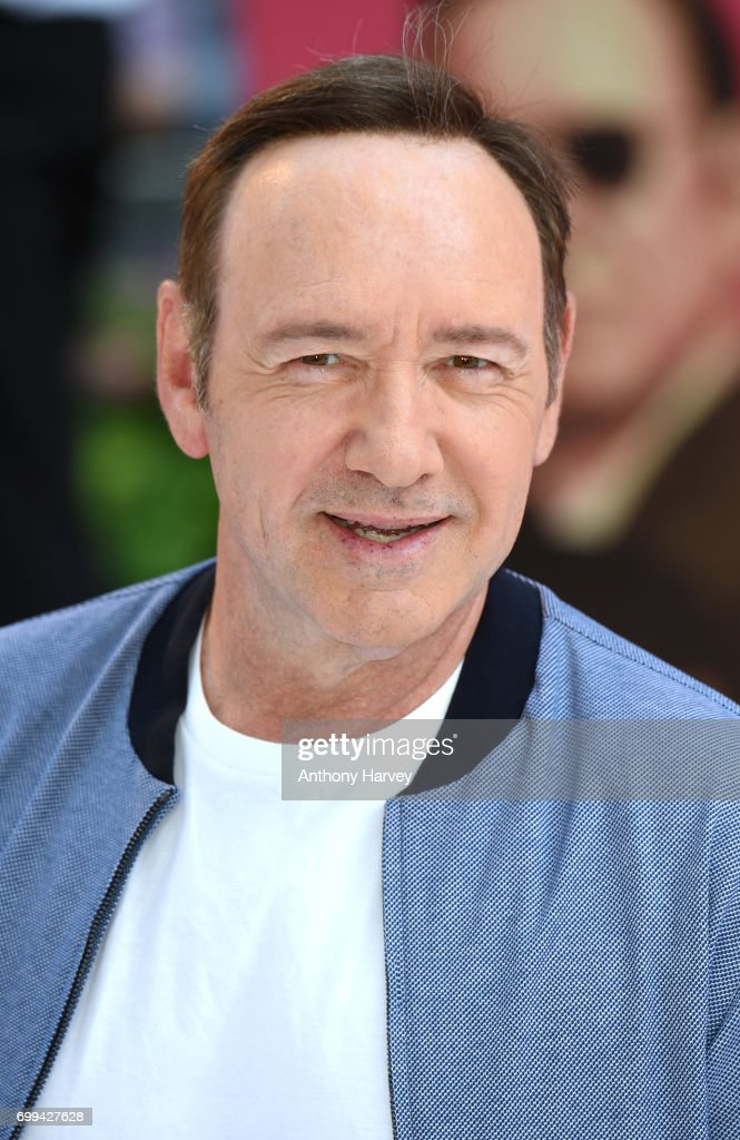 Kevin Spacey attends the European premiere of 'Baby Driver' on June 21, 2017 in London, United Kingdom.