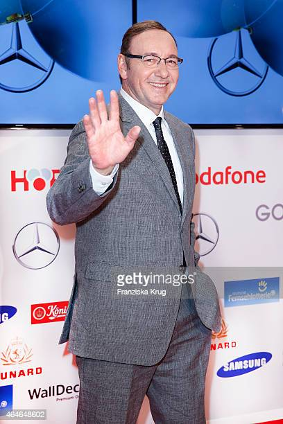 Kevin Spacey attends the Goldene Kamera 2015 on February 27 2015 in Hamburg Germany