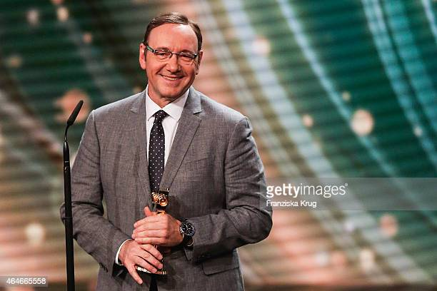 Kevin Spacey attends the Goldene Kamera 2015 show on February 27 2015 in Hamburg Germany