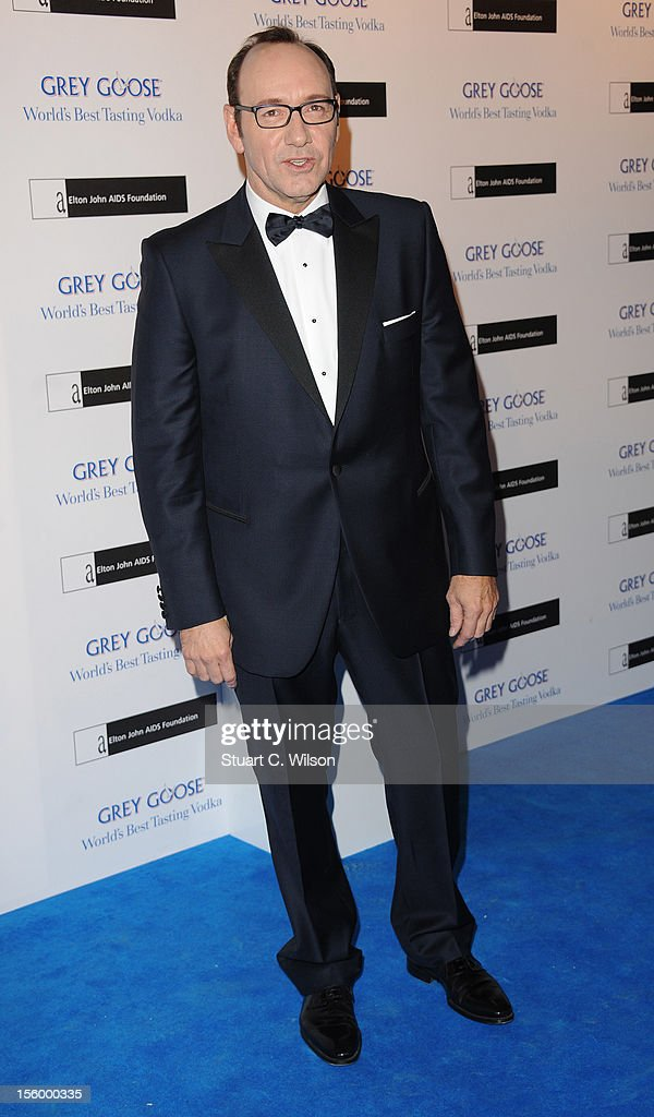 Kevin Spacey attends the Grey Goose Winter Ball at Battersea Power station on November 10, 2012 in London, England.