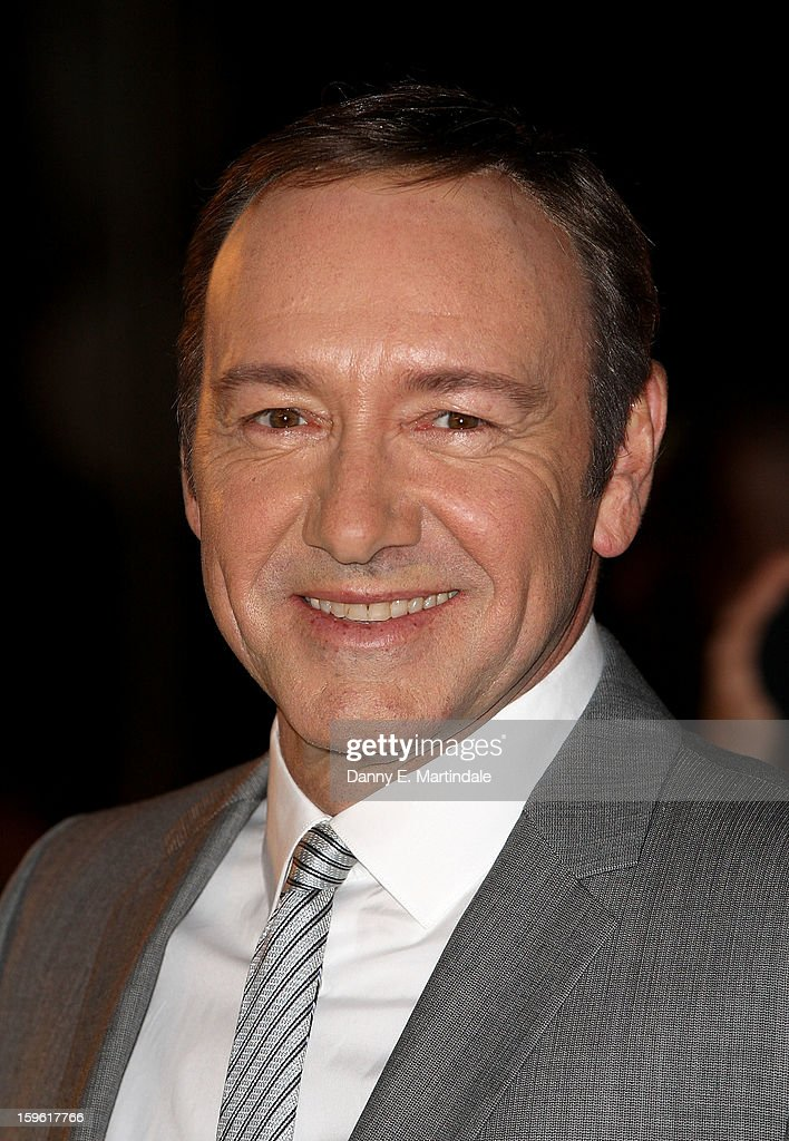 Kevin Spacey attends the red carpet premiere for the launch of Netflix Original Series, House of Cards on January 17, 2013 in London, United Kingdom.