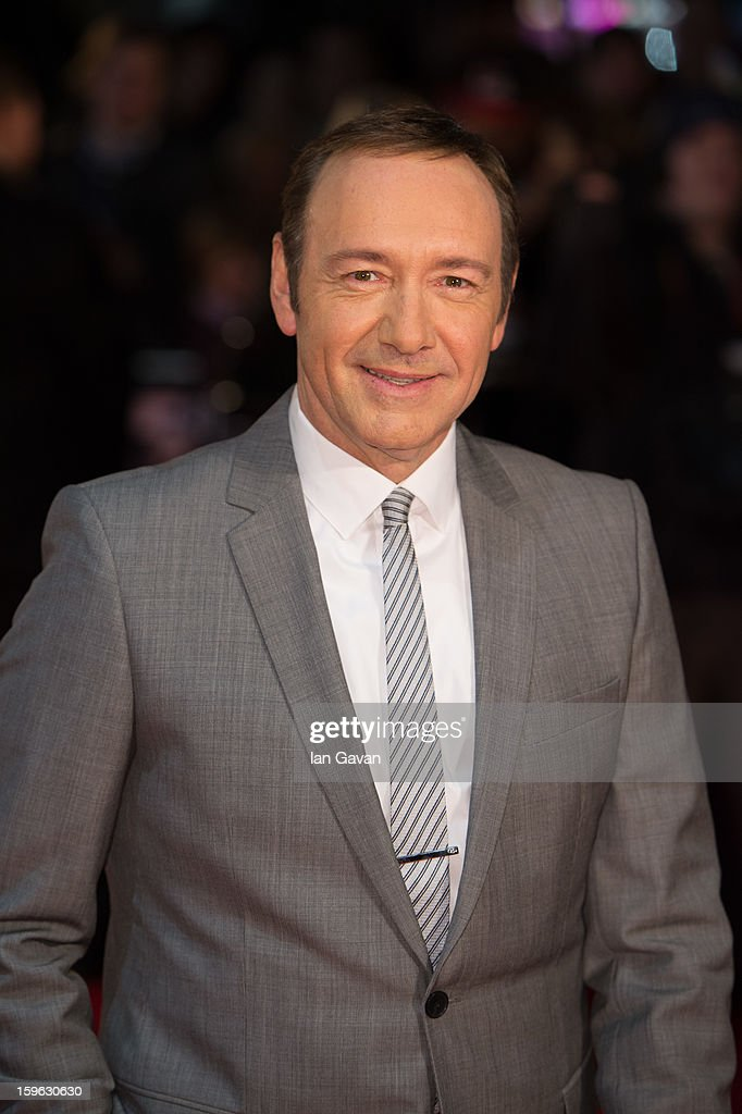 <a gi-track='captionPersonalityLinkClicked' href=/galleries/search?phrase=Kevin+Spacey&family=editorial&specificpeople=202091 ng-click='$event.stopPropagation()'>Kevin Spacey</a> attends the red carpet premiere for the launch of Netflix Original Series 'House of Cards' at Odeon West End on January 17, 2013 in London, England.