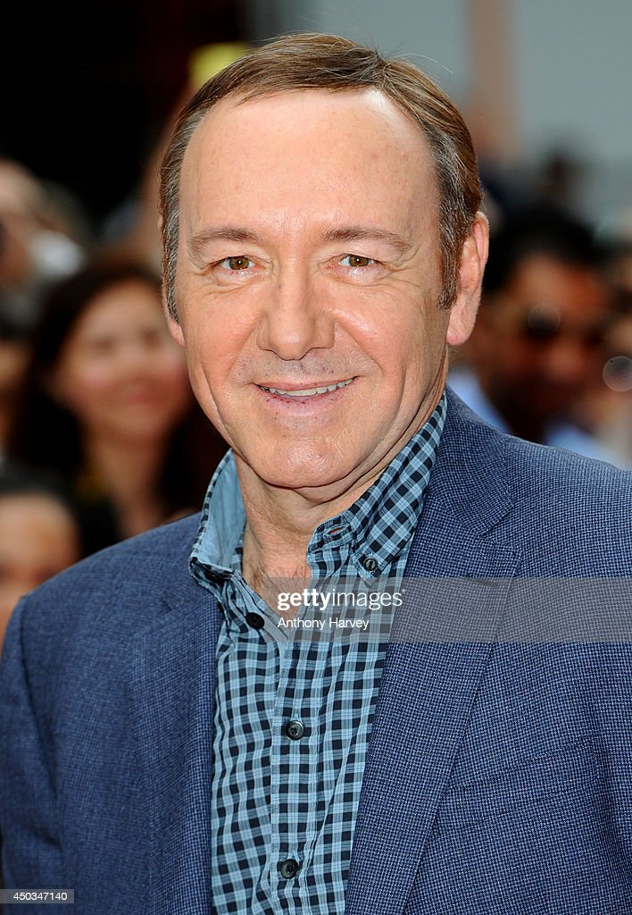 Kevin Spacey attends the UK Premiere of 'Now' at Empire Leicester Square on June 9 2014 in London England