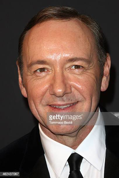 Kevin Spacey attends the Weinstein Company's 2014 Golden Globe Awards after party on January 12 2014 in Beverly Hills California