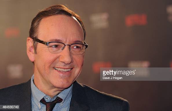 Kevin Spacey attends the World Premiere of 'House of Cards' Season 3 at The Empire Cinema on February 26 2015 in London England