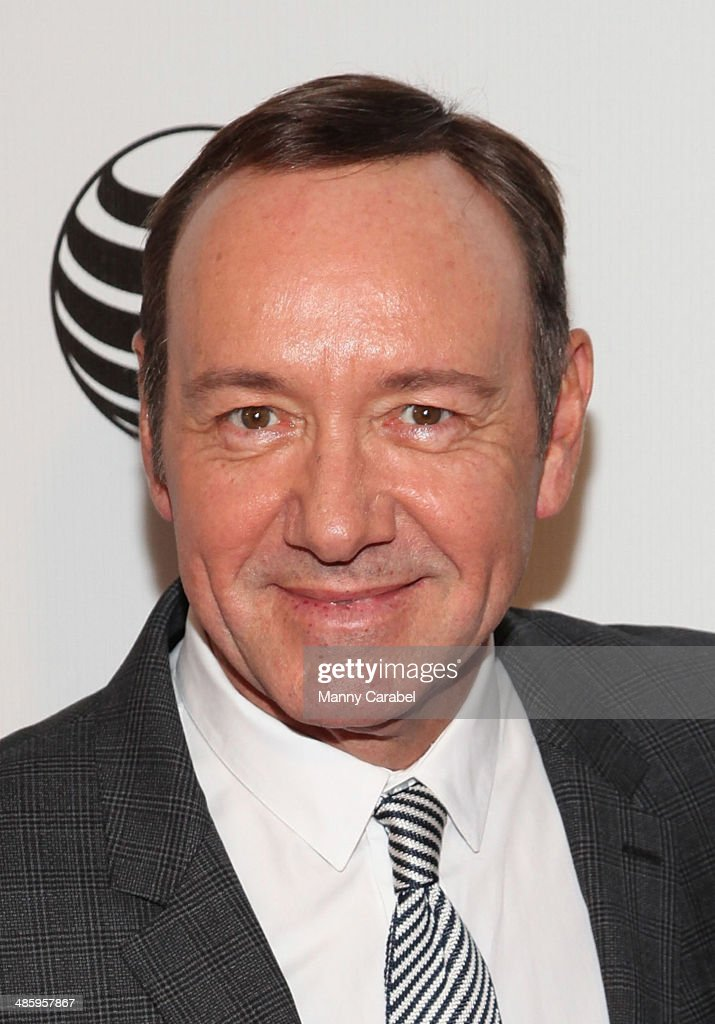 Kevin Spacey attends Tribeca Talks After the Movie 'NOW In the Wings on a World Stage' during the 2014 Tribeca Film Festival at BMCC Tribeca PAC on...