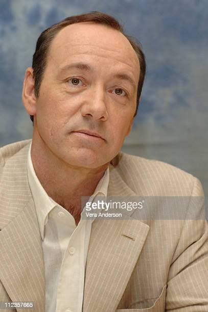 Kevin Spacey during 'Superman Returns' Press Conference with Bryan Singer Brandon Routh Kate Bosworth Kevin Spacey and Eva Marie Saint at Century...