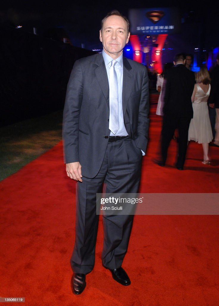 Kevin Spacey during 'Superman Returns' World Premiere Sponsored By Belstaff at Mann Village and Bruin Theaters in Westwood California United States