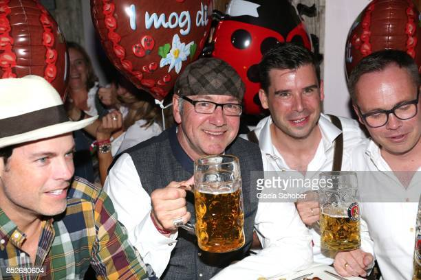 Kevin Spacey during the Oktoberfest at Theresienwiese on September 23 2017 in Munich Germany