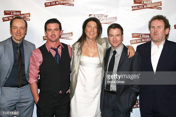Kevin Spacey Eugene O'Hare Eve Best Billy Carter and Colm Meaney